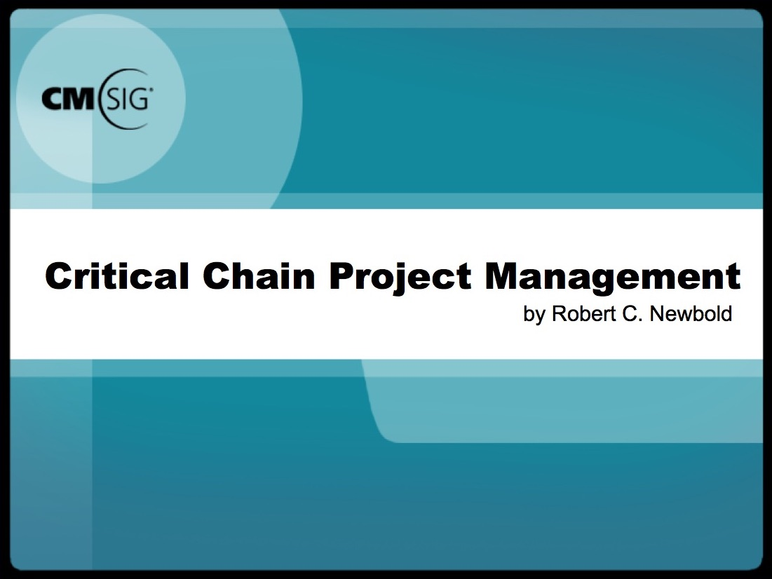 critical chain project scheduling Critical chain project management (ccpm) is naturally compared to the traditional critical path method (cp) and its scheduling technique, as it comes from a similar origin both work with a project network  both aim at planning and setting the schedule of work.