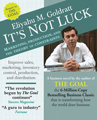 it s not luck audiobook goldratt marketing